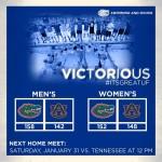 Florida Sweeps SEC-Rival Auburn for Second Consecutive Season