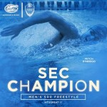 Men's 500-yard freestyle – My First-Career Individual SEC Championship