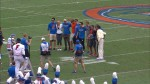 GATOR VISION TV: UF OLYMPIANS HONORED DURING THE FOOTBALL GAME – THE SWAMP, 12 NOV. 2016.