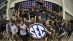 Florida men's swimming & diving team captured its fifth-straight SEC Championship