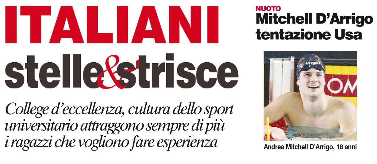 Italiani Stelle&Strisce – Corriere dello Sport