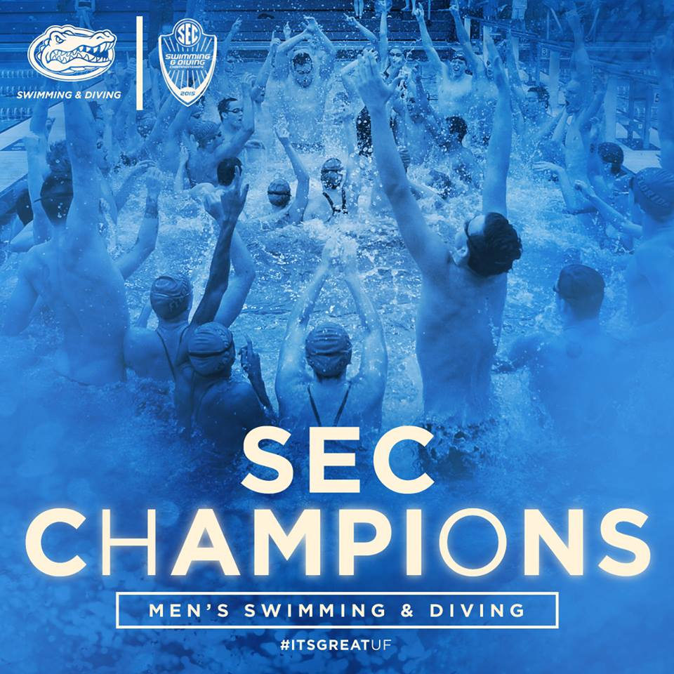SEC CHAMPS: Florida's men win its third-straight SEC Championship