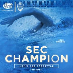 Mitch SEC Champion 500 Free