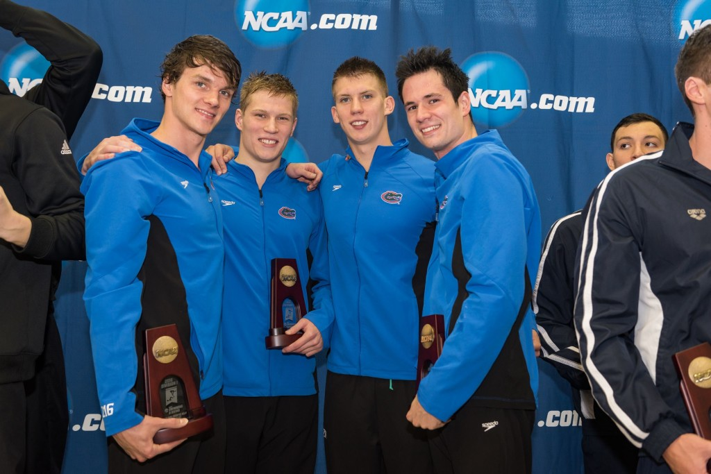 GATORS OPEN NCAAS WITH SCHOOL RECORD, 3RD FASTEST TIME EVER