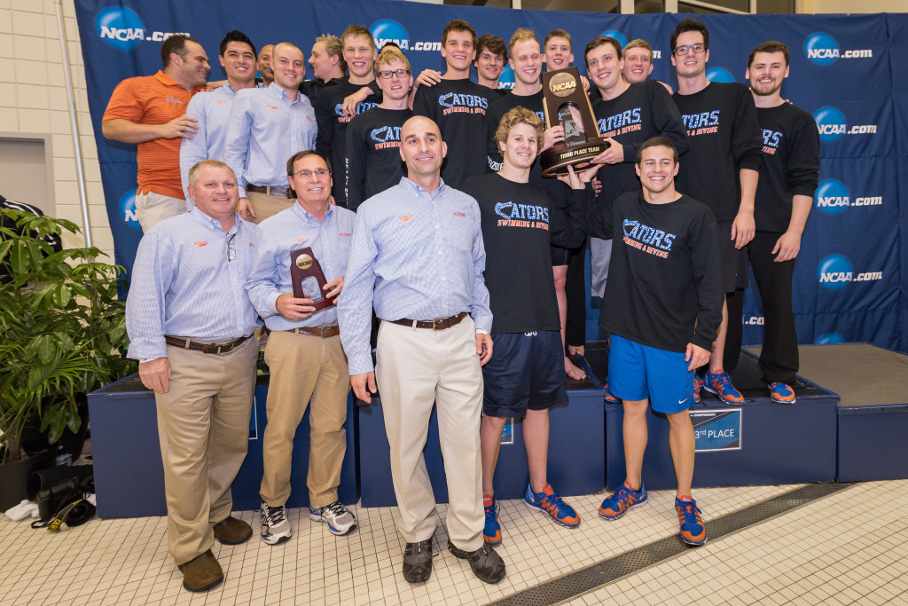 GATORS FINISH 3RD AT NCAA CHAMPIONSHIPS