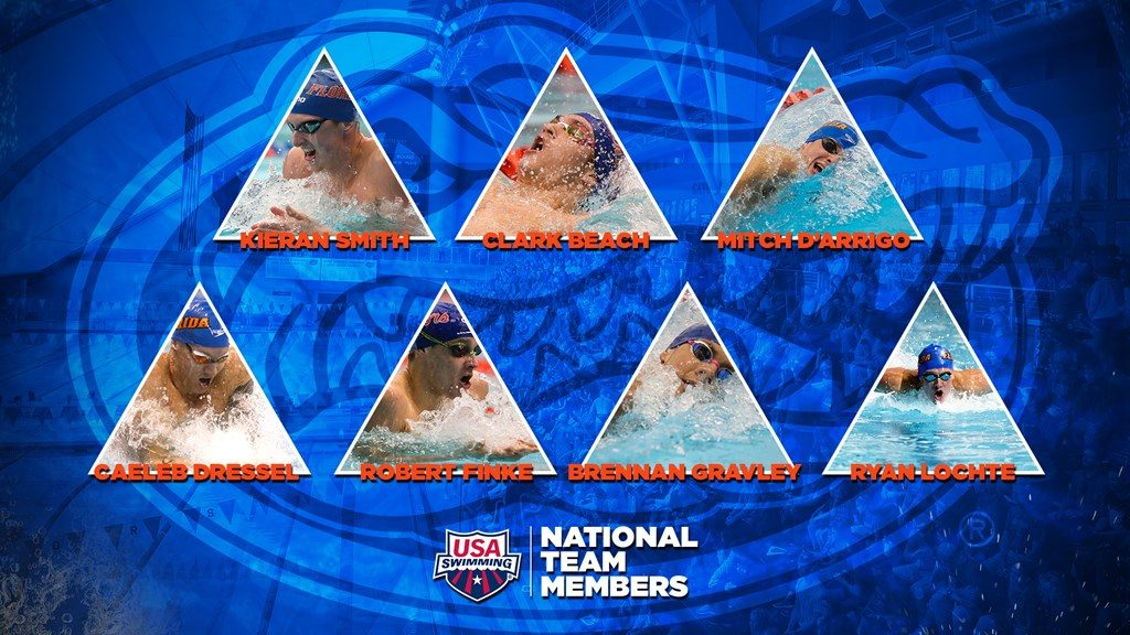 Seven Gators Named to 2020-21 U.S. National Team